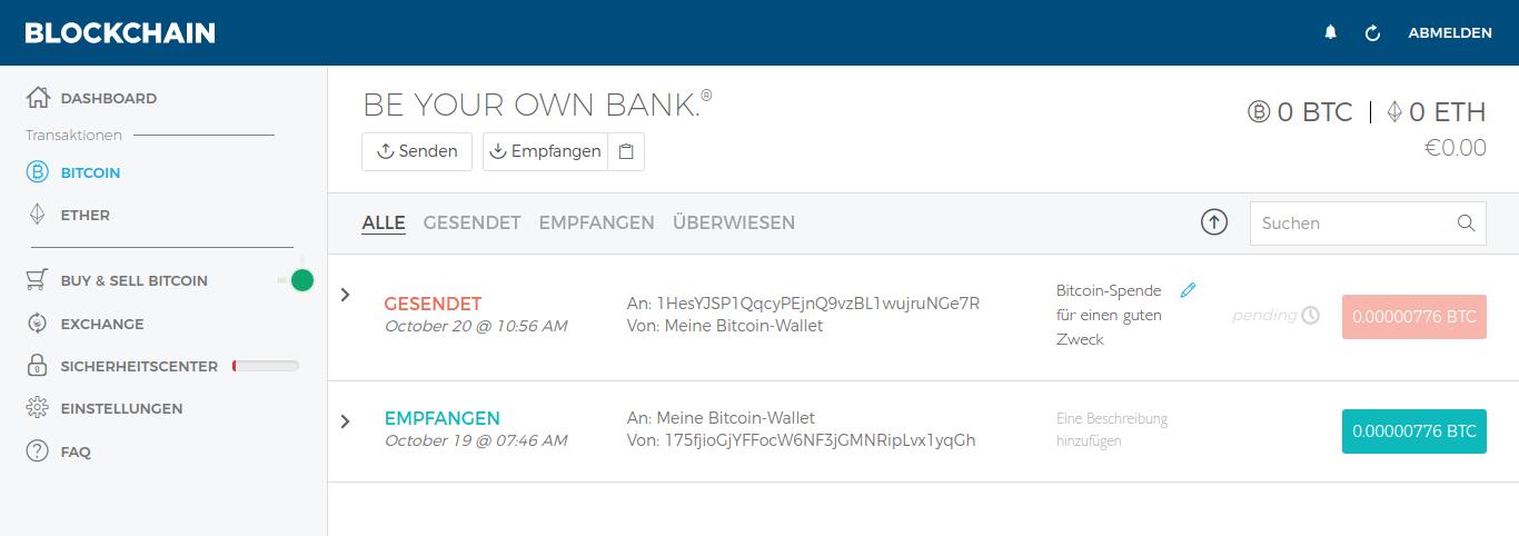 bitcoin kaufen senden